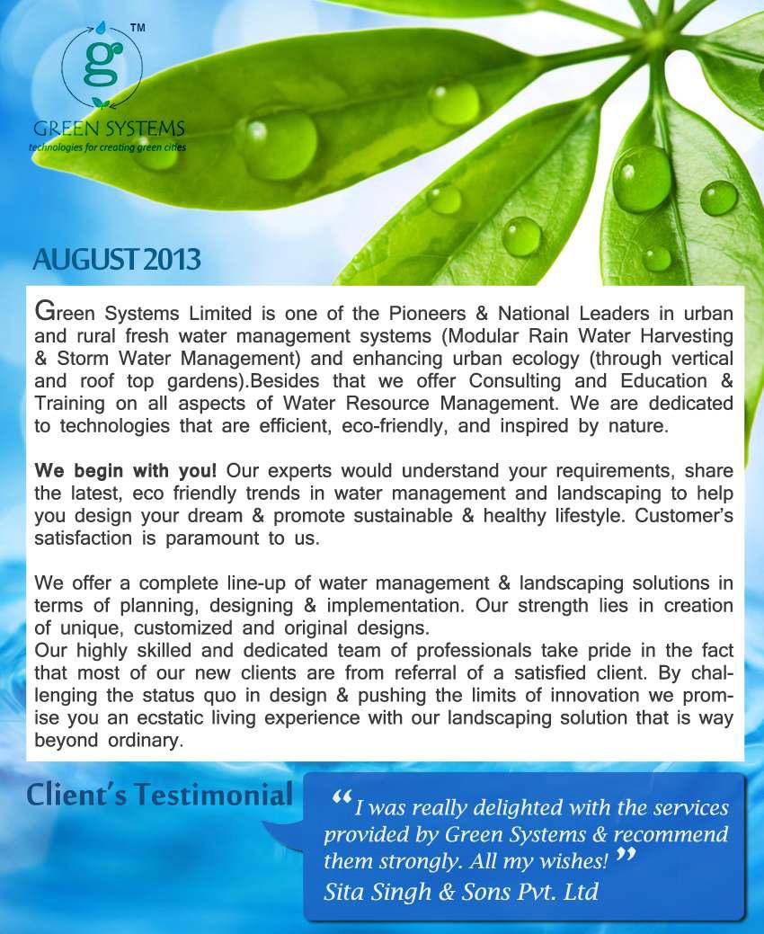 News Letter August